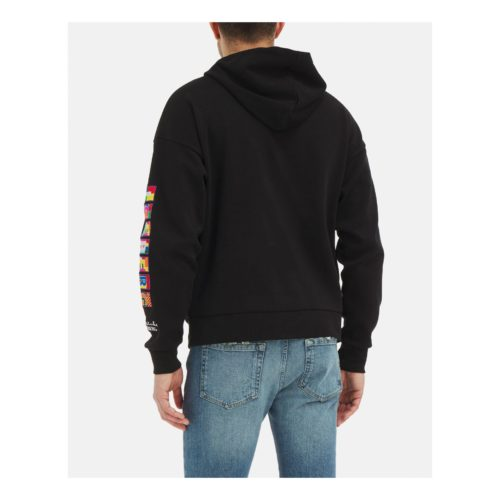 .ICEBERG hooded sweater with Peter Blake graphic