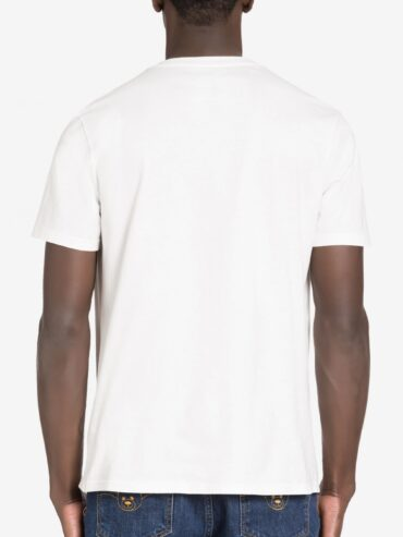 MOSCHINO DOUBLE QUESTION MARK JERSEY T-SHIRT