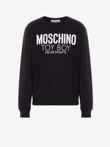 MOSCHINO COTTON SWEATSHIRT TOY BOY