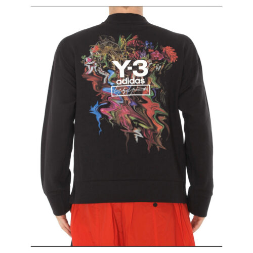 .Y-3 BACK TOKETA PRINT SWEATSHIRT