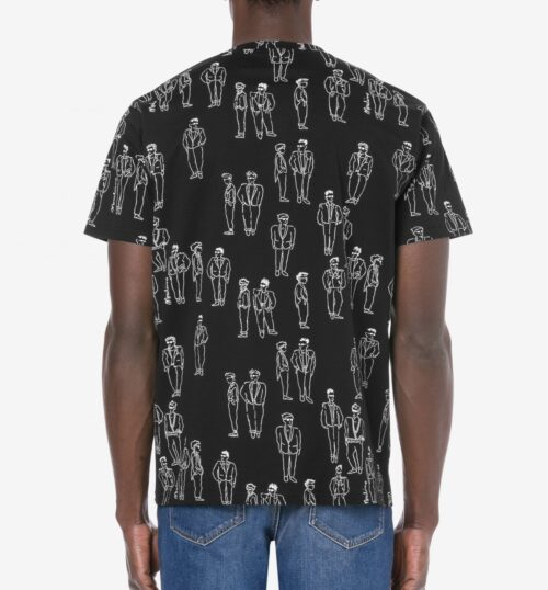 MOSCHINO CHARACTERS JERSEY T-SHIRT