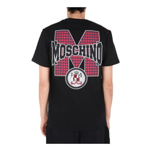 MOSCHINO LOGO MOTIF T-SHIRT