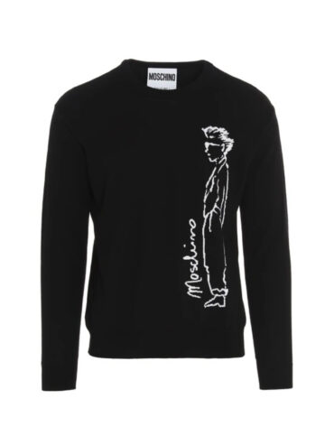 MOSCHINO CHARACTERS COTTON PULLOVER