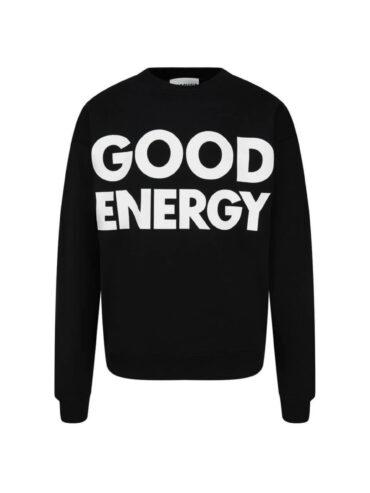 MOSCHINO GOOD ENERGY COTTON SWEATSHIRT