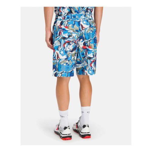 . Michelangelo detail Iceberg track pant shorts