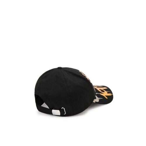 . Black Iceberg baseball cap with graffiti logo