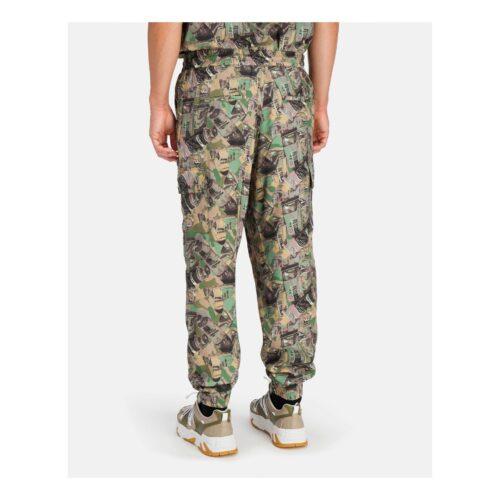 . Camouflage-style Iceberg cargo pants