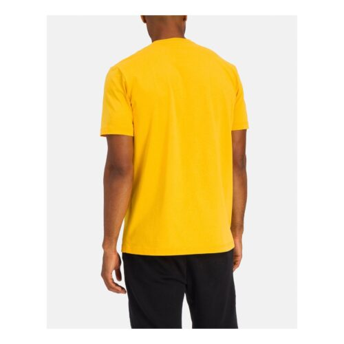 . Yellow Iceberg T-shirt with large Mickey Mouse graphic