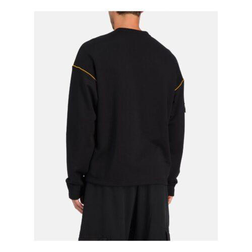 . Black Iceberg sweater with sleeve pocket